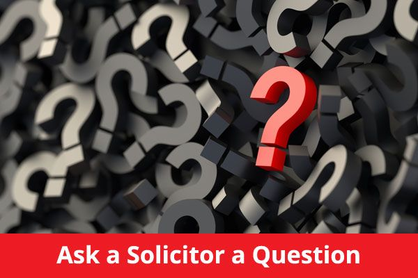 Ask a solicitor a question